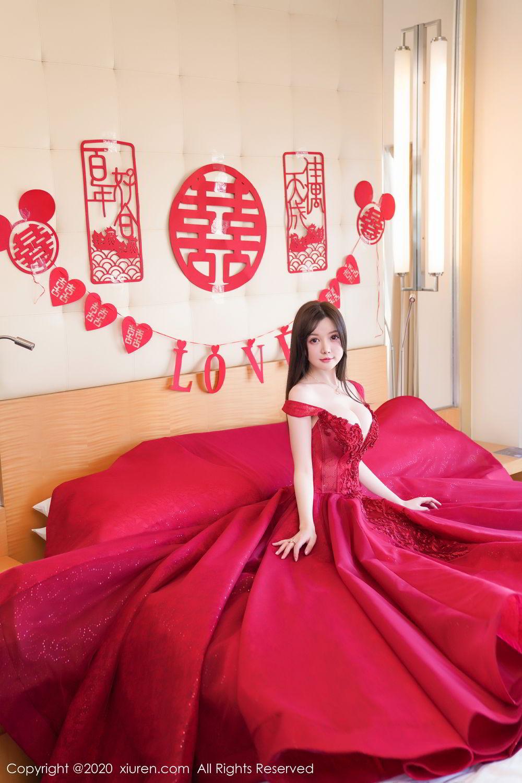 [XiuRen] Vol.2058 Nuo Mei Zi 17P, Mini Da Meng Meng, Underwear, Xiuren