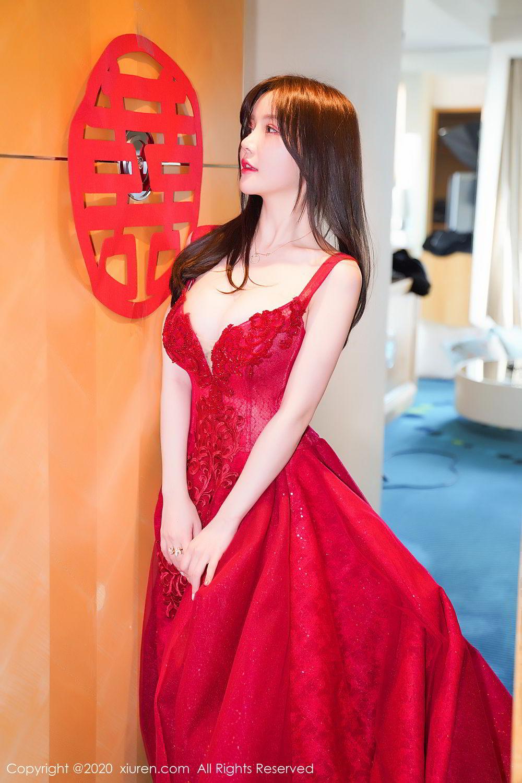 [XiuRen] Vol.2058 Nuo Mei Zi 1P, Mini Da Meng Meng, Underwear, Xiuren