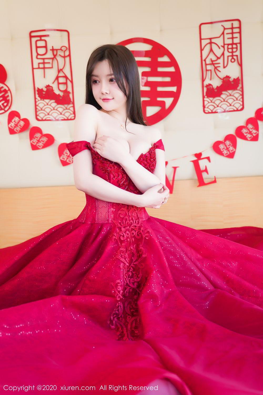 [XiuRen] Vol.2058 Nuo Mei Zi 24P, Mini Da Meng Meng, Underwear, Xiuren