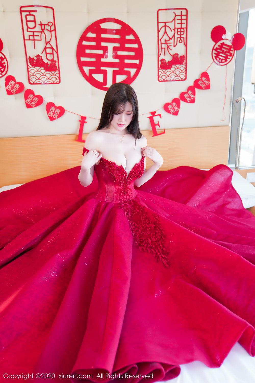 [XiuRen] Vol.2058 Nuo Mei Zi 25P, Mini Da Meng Meng, Underwear, Xiuren