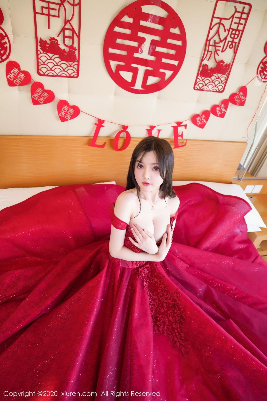[XiuRen] Vol.2058 Nuo Mei Zi 27P, Mini Da Meng Meng, Underwear, Xiuren