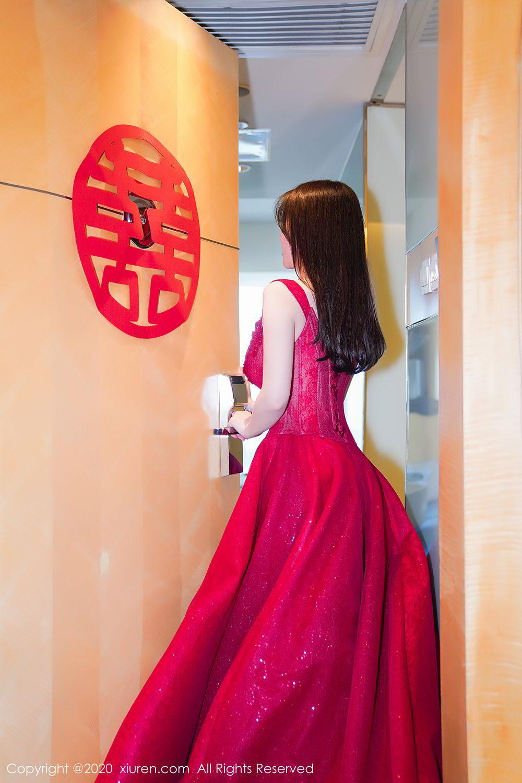 [XiuRen] Vol.2058 Nuo Mei Zi 2P, Mini Da Meng Meng, Underwear, Xiuren