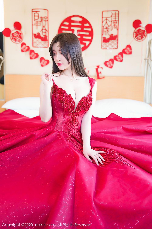 [XiuRen] Vol.2058 Nuo Mei Zi 31P, Mini Da Meng Meng, Underwear, Xiuren