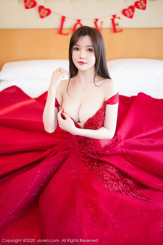 [XiuRen] Vol.2058 Nuo Mei Zi 34P, Mini Da Meng Meng, Underwear, Xiuren