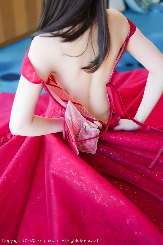 [XiuRen] Vol.2058 Nuo Mei Zi 37P, Mini Da Meng Meng, Underwear, Xiuren
