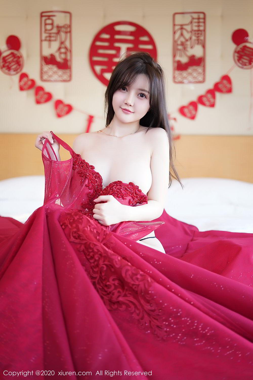 [XiuRen] Vol.2058 Nuo Mei Zi 62P, Mini Da Meng Meng, Underwear, Xiuren