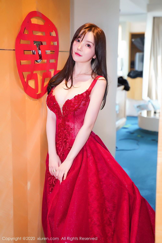 [XiuRen] Vol.2058 Nuo Mei Zi 6P, Mini Da Meng Meng, Underwear, Xiuren