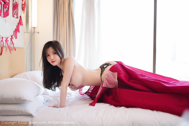 [XiuRen] Vol.2058 Nuo Mei Zi 70P, Mini Da Meng Meng, Underwear, Xiuren
