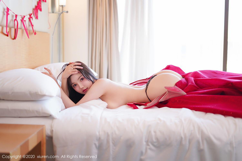 [XiuRen] Vol.2058 Nuo Mei Zi 71P, Mini Da Meng Meng, Underwear, Xiuren