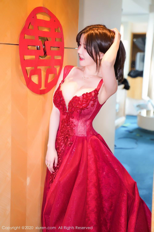 [XiuRen] Vol.2058 Nuo Mei Zi 8P, Mini Da Meng Meng, Underwear, Xiuren
