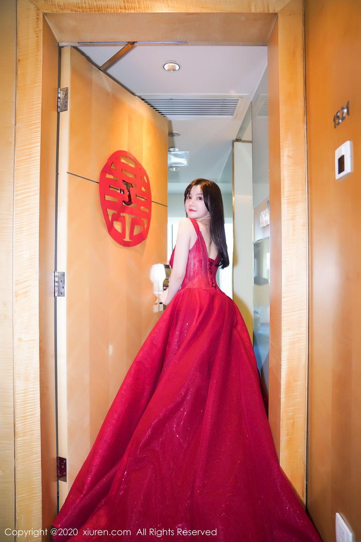 [XiuRen] Vol.2058 Nuo Mei Zi 9P, Mini Da Meng Meng, Underwear, Xiuren