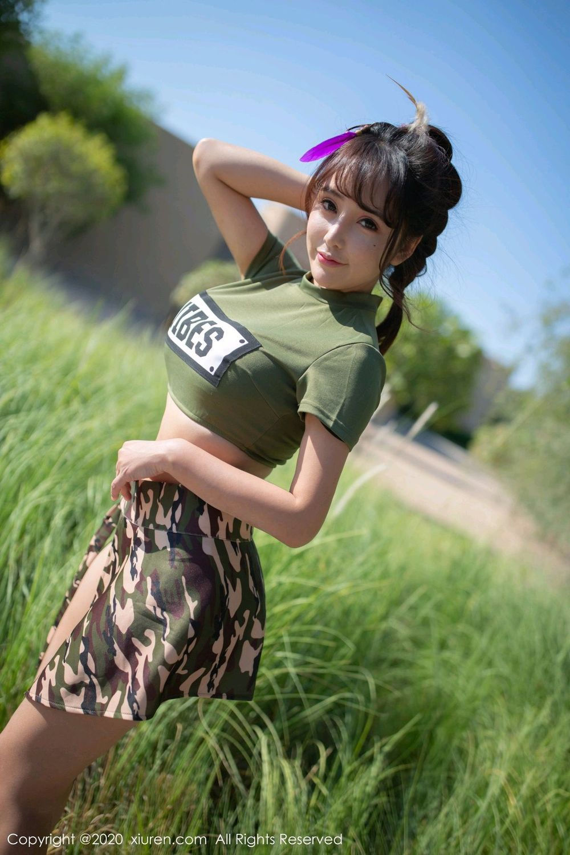 [XiuRen] Vol.2070 Tao Xi Le 23P, Cute, Outdoor, Tao Xi Le, Xiuren