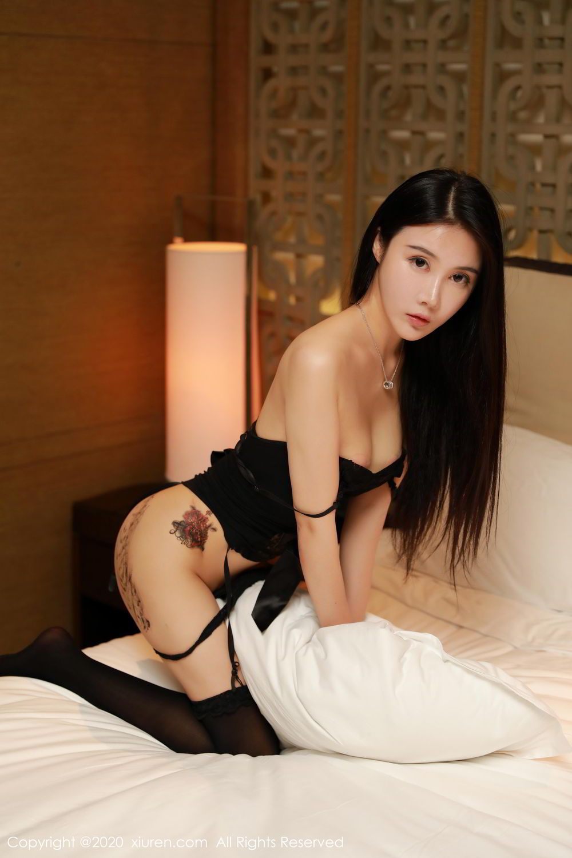 [XiuRen] Vol.2071 Xuan Xuan Cecillia 37P, Black Silk, Lu Xuan Xuan, Underwear, Xiuren