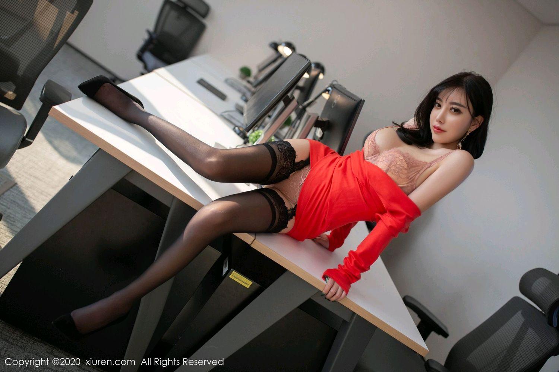 [XiuRen] Vol.2075 Yang Chen Chen 17P, Black Silk, Xiuren, Yang Chen Chen
