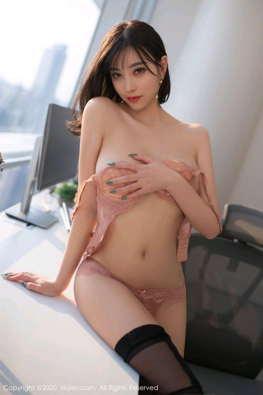 [XiuRen] Vol.2075 Yang Chen Chen 69P, Black Silk, Xiuren, Yang Chen Chen