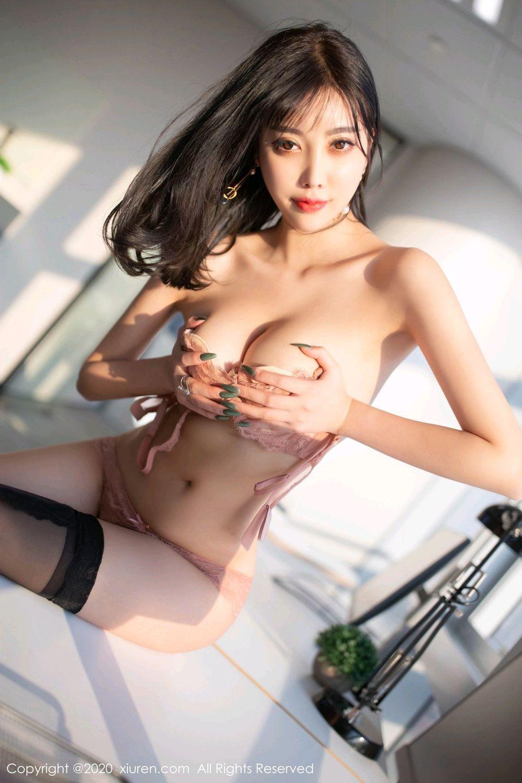 [XiuRen] Vol.2075 Yang Chen Chen 77P, Black Silk, Xiuren, Yang Chen Chen