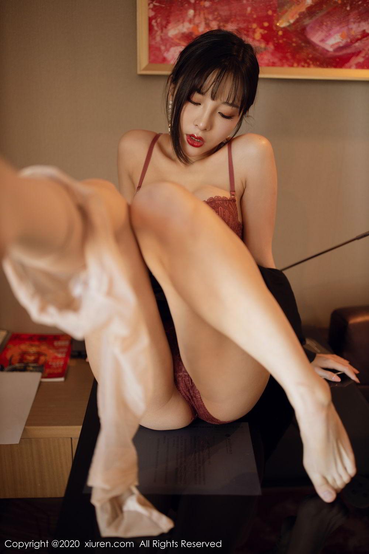 [XiuRen] Vol.2094 Chen Xiao Miao 55P, Chen Xiao Miao, Underwear, Xiuren