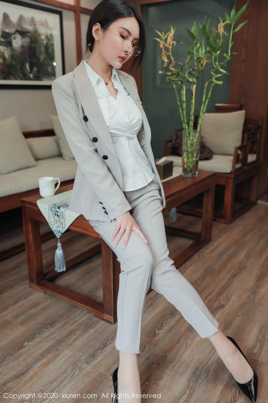 [XiuRen] Vol.2098 Solo Yi Fei 11P, Solo Yi Fei, Uniform, Xiuren