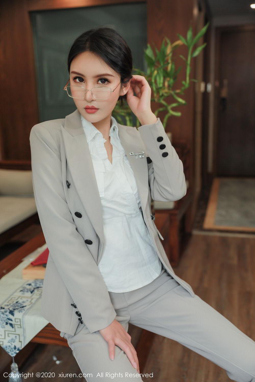 [XiuRen] Vol.2098 Solo Yi Fei 13P, Solo Yi Fei, Uniform, Xiuren