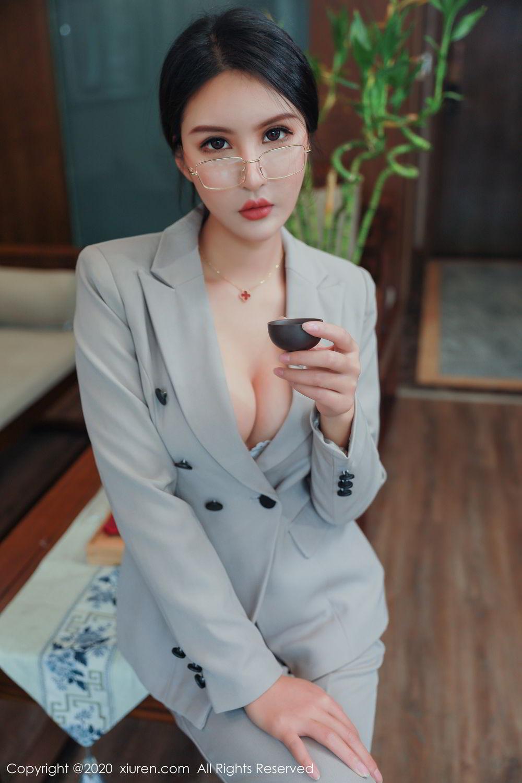 [XiuRen] Vol.2098 Solo Yi Fei 16P, Solo Yi Fei, Uniform, Xiuren