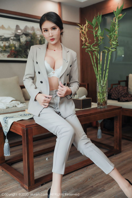 [XiuRen] Vol.2098 Solo Yi Fei 17P, Solo Yi Fei, Uniform, Xiuren