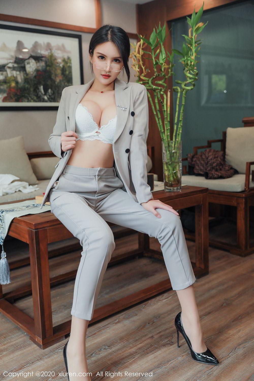[XiuRen] Vol.2098 Solo Yi Fei 19P, Solo Yi Fei, Uniform, Xiuren