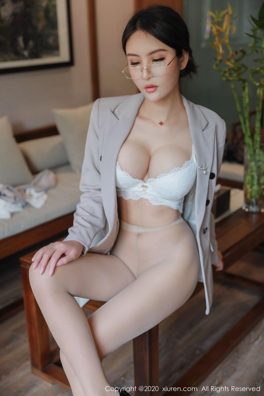 [XiuRen] Vol.2098 Solo Yi Fei 37P, Solo Yi Fei, Uniform, Xiuren