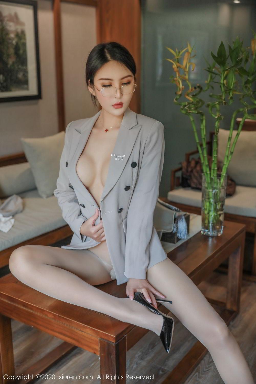 [XiuRen] Vol.2098 Solo Yi Fei 46P, Solo Yi Fei, Uniform, Xiuren