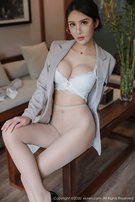 [XiuRen] Vol.2098 Solo Yi Fei 4P, Solo Yi Fei, Uniform, Xiuren