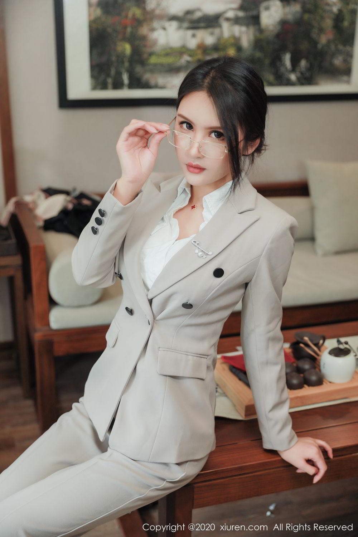 [XiuRen] Vol.2098 Solo Yi Fei 8P, Solo Yi Fei, Uniform, Xiuren