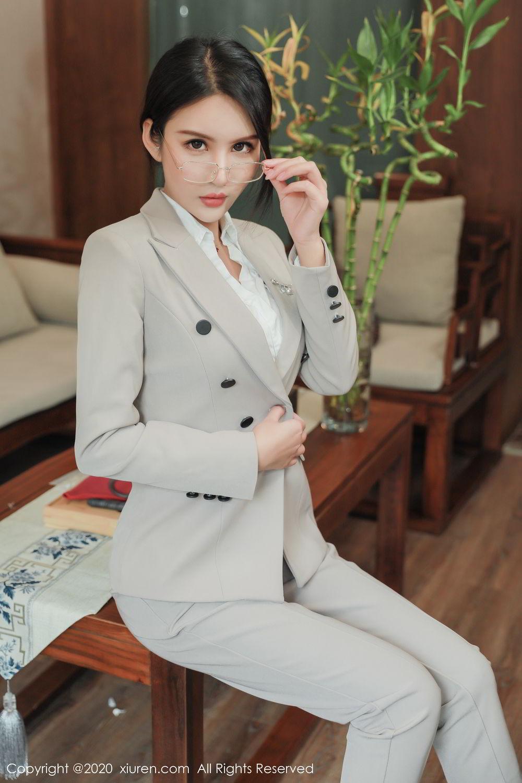 [XiuRen] Vol.2098 Solo Yi Fei 9P, Solo Yi Fei, Uniform, Xiuren