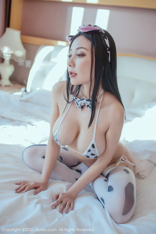[XiuRen] Vol.2099 Guo Er Victoria 2P, Song Guo Er, Spring Festival, Tall, Underwear, Xiuren