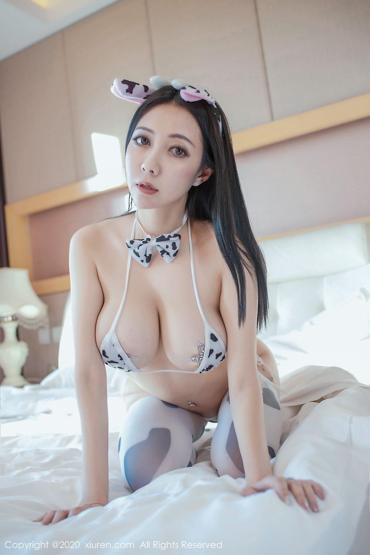 [XiuRen] Vol.2099 Guo Er Victoria 45P, Song Guo Er, Spring Festival, Tall, Underwear, Xiuren