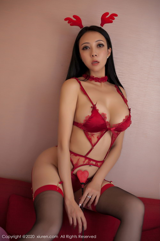 [XiuRen] Vol.2099 Guo Er Victoria 77P, Song Guo Er, Spring Festival, Tall, Underwear, Xiuren