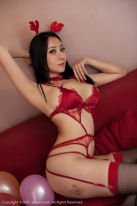 [XiuRen] Vol.2099 Guo Er Victoria 83P, Song Guo Er, Spring Festival, Tall, Underwear, Xiuren