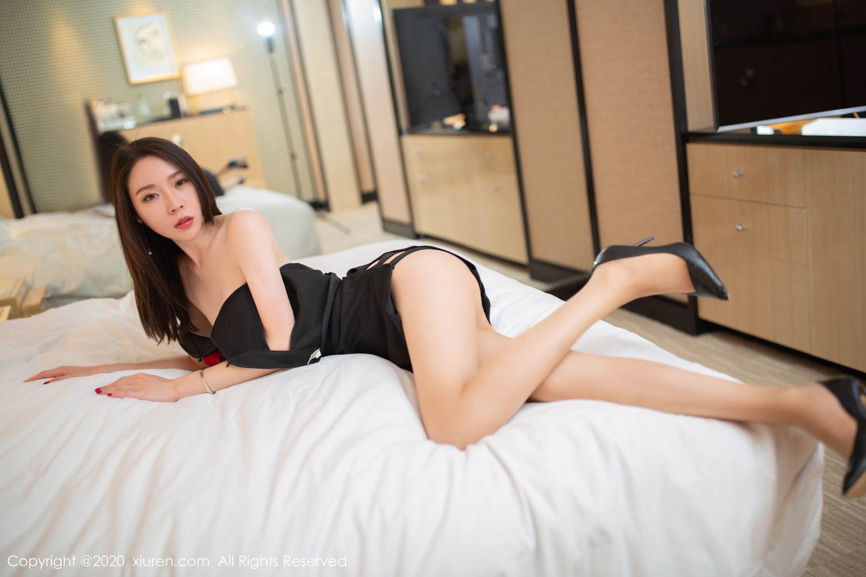 [XiuRen] Vol.2103 Meng Xin Yue 27P, Black Silk, Meng Xin Yue, Tall, Underwear, Xiuren