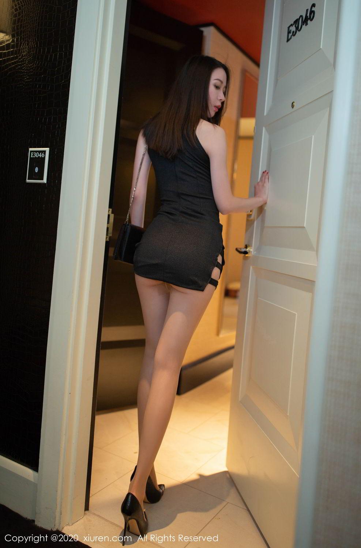 [XiuRen] Vol.2103 Meng Xin Yue 9P, Black Silk, Meng Xin Yue, Tall, Underwear, Xiuren