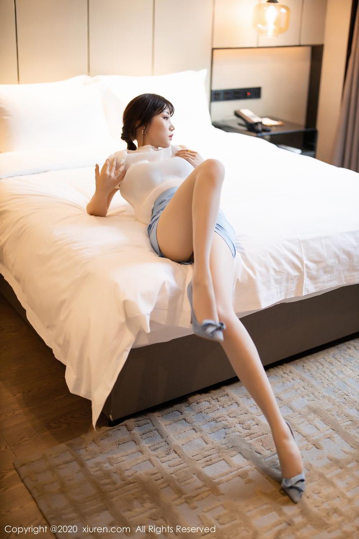 [XiuRen] Vol.2107 Zhi Zhi Booty 25P, Chen Zhi, Sexy, Underwear, Xiuren