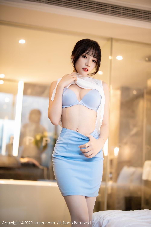 [XiuRen] Vol.2107 Zhi Zhi Booty 48P, Chen Zhi, Sexy, Underwear, Xiuren