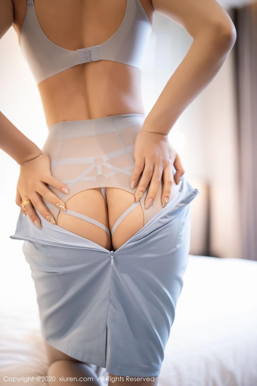 [XiuRen] Vol.2107 Zhi Zhi Booty 54P, Chen Zhi, Sexy, Underwear, Xiuren