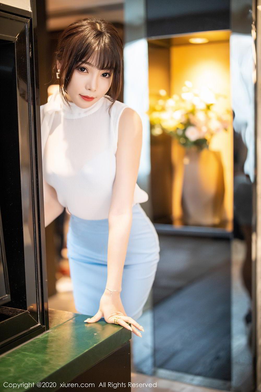 [XiuRen] Vol.2107 Zhi Zhi Booty 9P, Chen Zhi, Sexy, Underwear, Xiuren