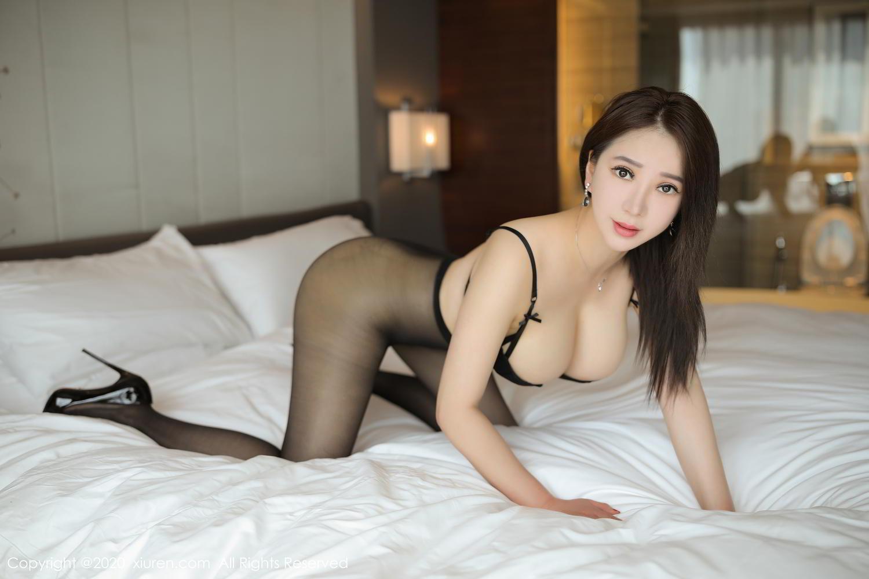 [XiuRen] Vol.2111 Zhou Xin Xin 13P, Black Silk, Tall, Xiuren, Zhou Xin Xin