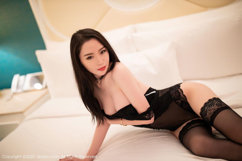 [XiuRen] Vol.2112 Meng Xin Yue 39P, Black Silk, Meng Xin Yue, Tall, Underwear, Xiuren