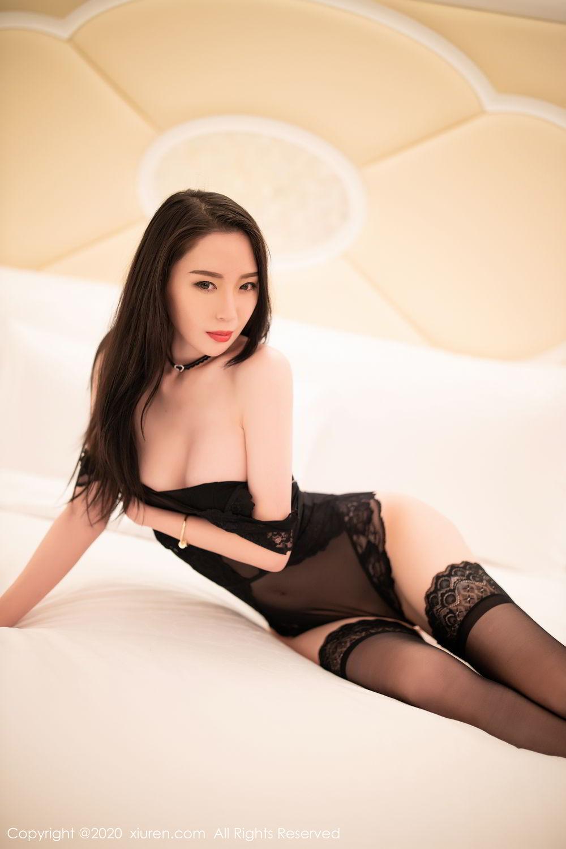 [XiuRen] Vol.2112 Meng Xin Yue 40P, Black Silk, Meng Xin Yue, Tall, Underwear, Xiuren