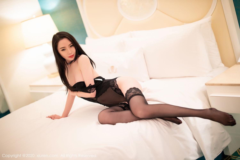 [XiuRen] Vol.2112 Meng Xin Yue 41P, Black Silk, Meng Xin Yue, Tall, Underwear, Xiuren
