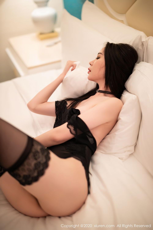 [XiuRen] Vol.2112 Meng Xin Yue 47P, Black Silk, Meng Xin Yue, Tall, Underwear, Xiuren