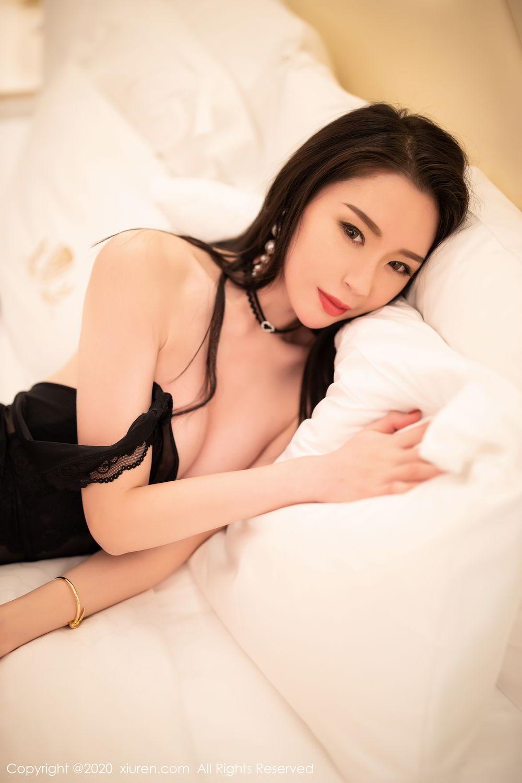 [XiuRen] Vol.2112 Meng Xin Yue 53P, Black Silk, Meng Xin Yue, Tall, Underwear, Xiuren
