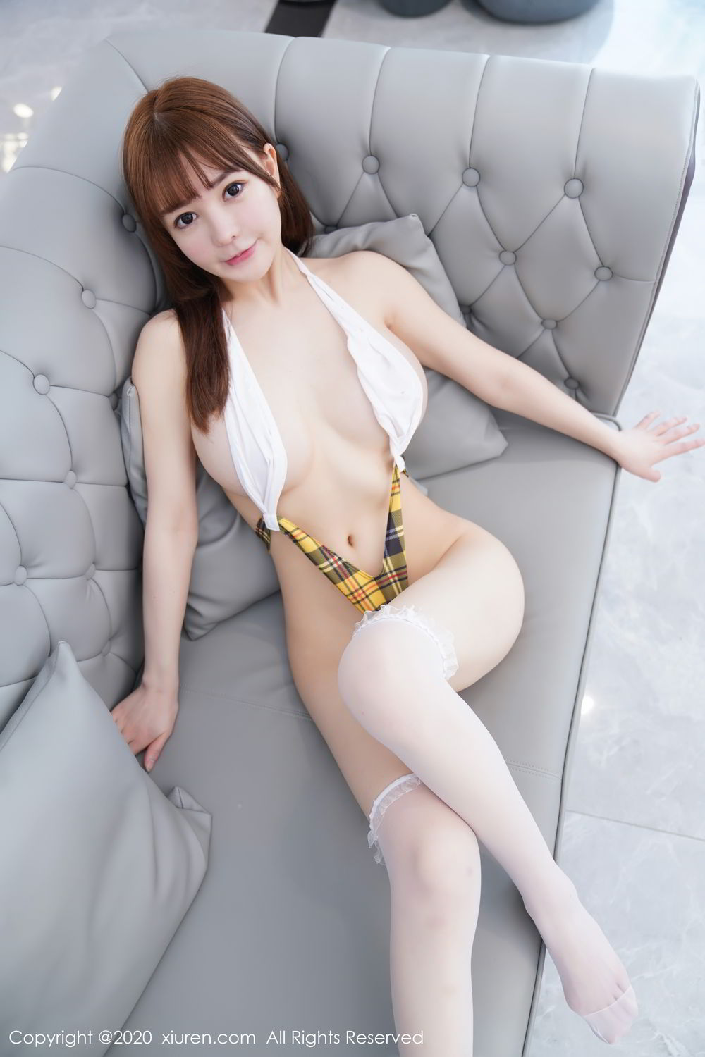 [XiuRen] Vol.2115 Uu Jiang 21P, Baby Face Big Boobs, Cute, UU Jiang, Xiuren