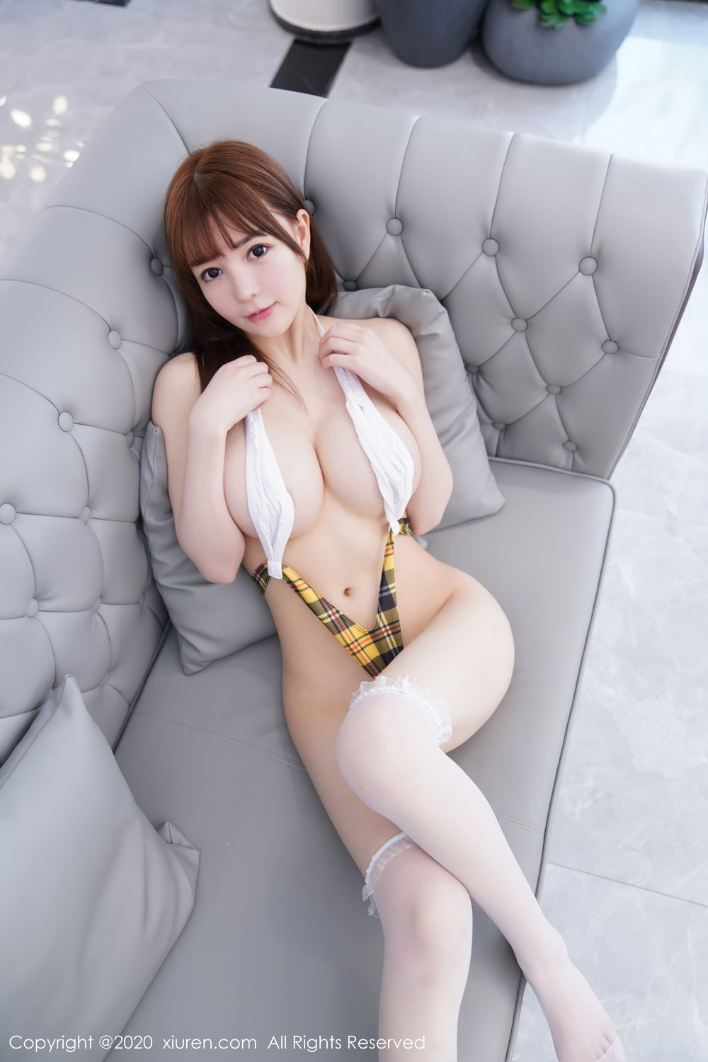 [XiuRen] Vol.2115 Uu Jiang 22P, Baby Face Big Boobs, Cute, UU Jiang, Xiuren