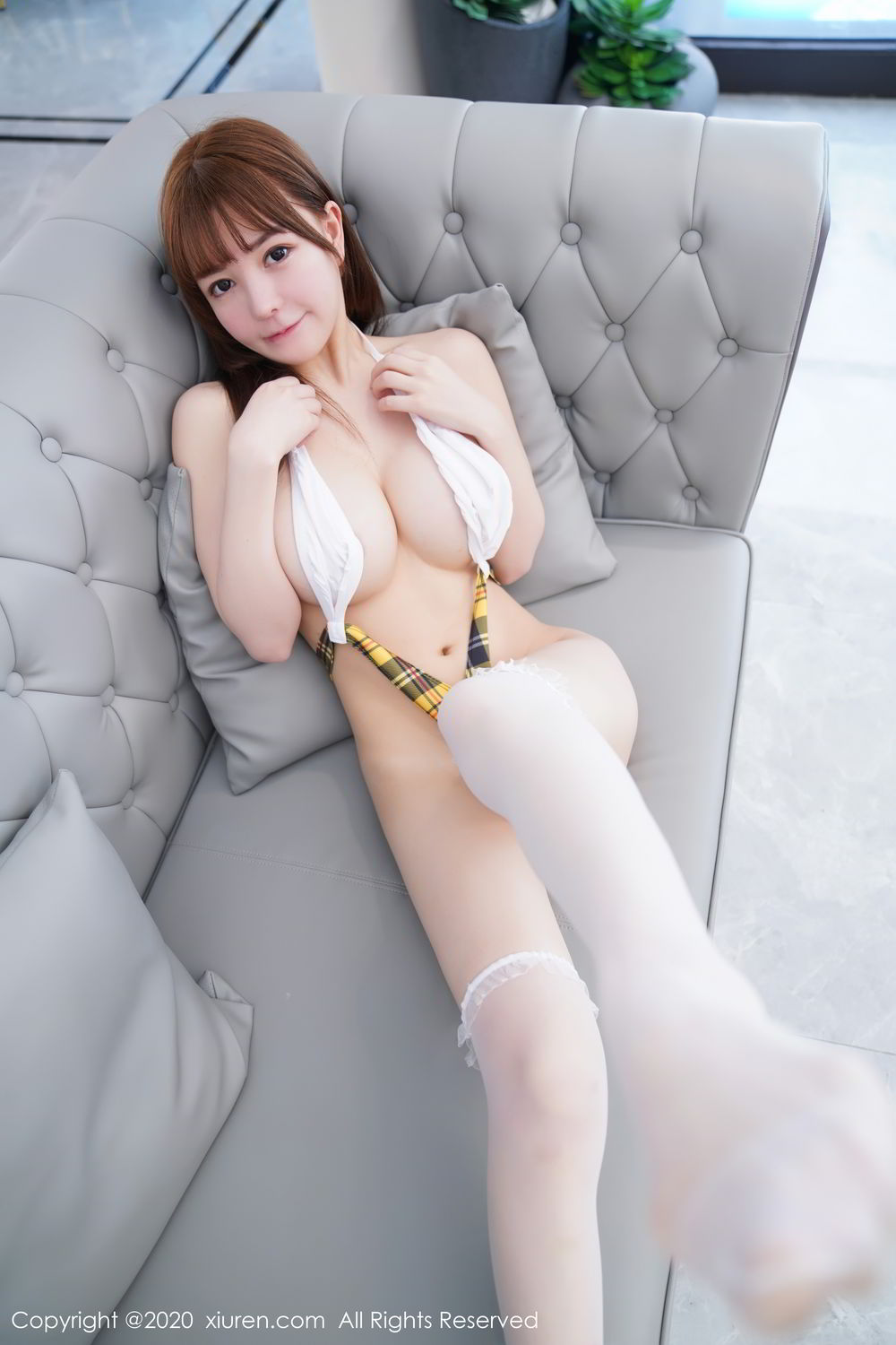[XiuRen] Vol.2115 Uu Jiang 23P, Baby Face Big Boobs, Cute, UU Jiang, Xiuren